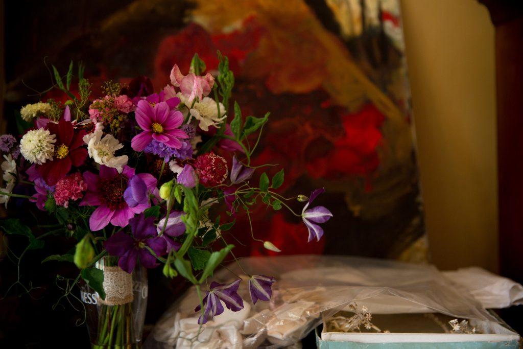 Guinness wedding bouquet